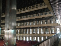4 floors in the main praying hall