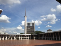 The 66.66 m Istiqlal minaret