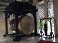 A huge drum called Beduk