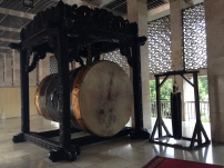 A huge drum called Beduk