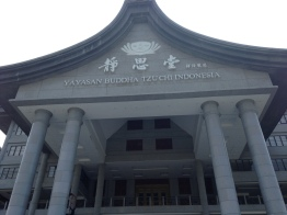 The front side of Buddha Tzu Chi Centre