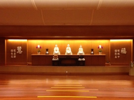 Praying Hall. Open for public.