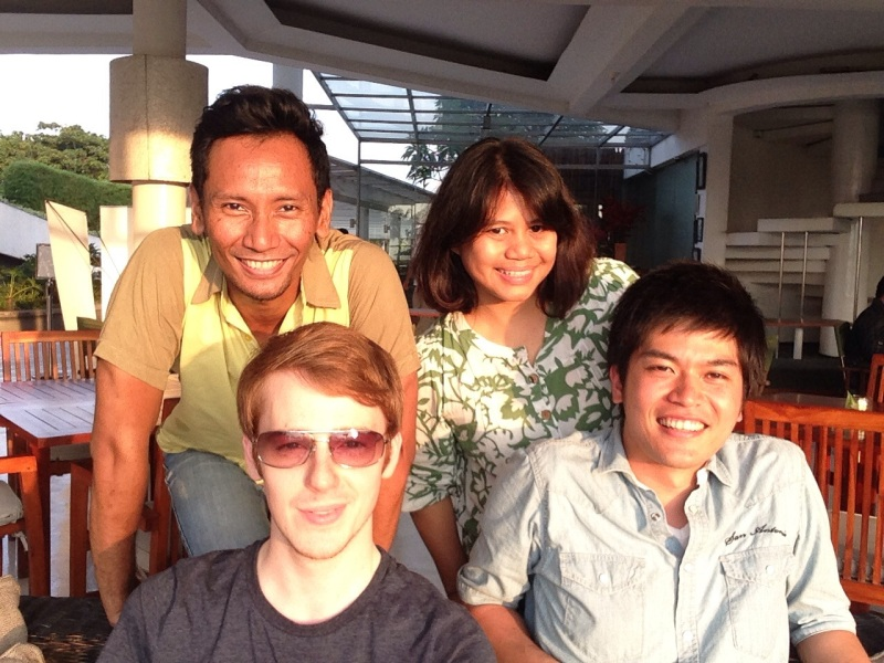 We just had to do it. A selfie in Segarra, Ancol