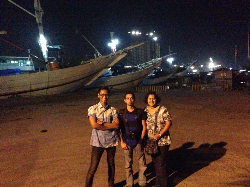 We managed to do a quick stop at Sunda Kelapa seaport. It was quiet but quite pretty.