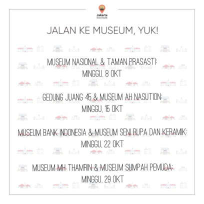Museum tour in October