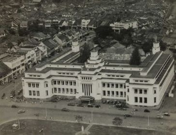 The old picture of Mandiri Museum from above.