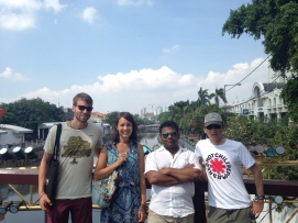 Germans, Indian, Japanese. How culturally rich our walk is!