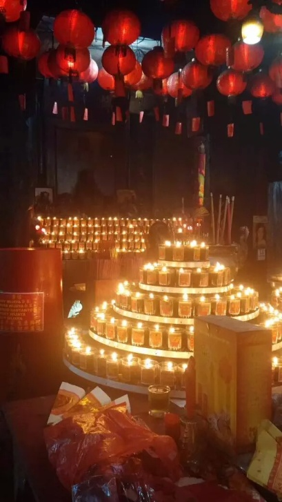 Come inside the Sin Tek Bio temple and send a light to someone you know?