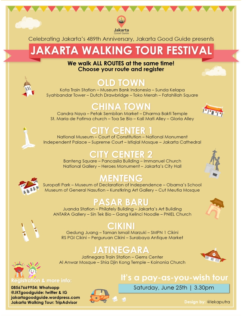 walking tour JATINEGARA